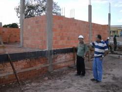 Obras do CETESI em Ji-Paraná