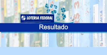 Último resultado da Loteria Federal