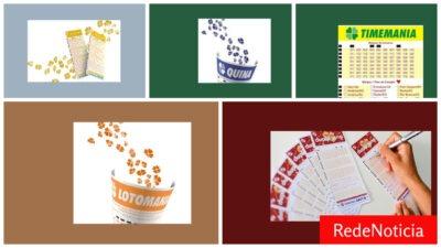 Loteria da caixa: Resultados dos jogos de terça feira 31/08/2021