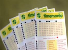 Resultado da Timemania da Loteria Federal da Caixa